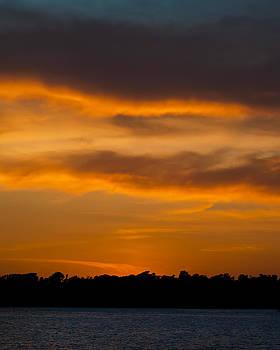 Sundown Knight Island by Eleanor Ivins