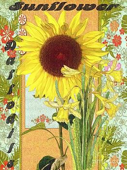 Liane Wright - Sunflower and Daffodils