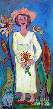 Sunflower Day by Marlene Robbins