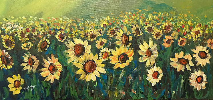 Sunflower Field by Dorothy Maier