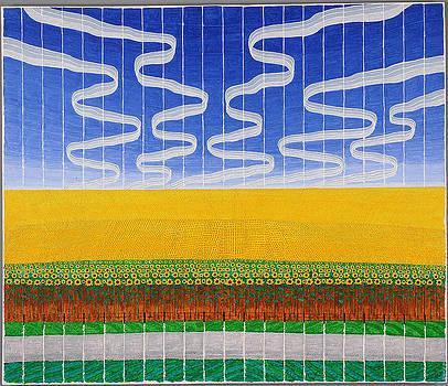 Sunflower Fields by Jesse Jackson Brown