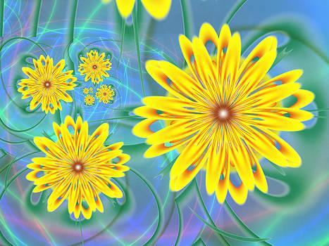Sunflower Garden by Faye Giblin