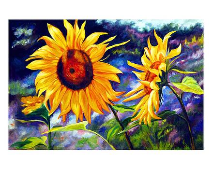 Sunflower by Gustavo Oliveira