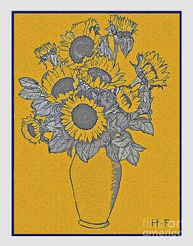 Sunflower by Herbert French