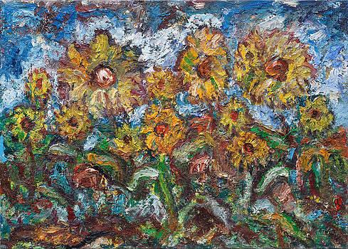 Sunflowers by Borislav Djukanovic