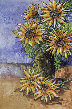 Sunflowers by Edith Hardaway