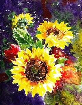 Irina Sztukowski - Sunflowers Impressionism