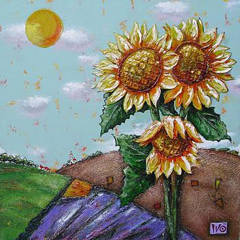 Sunflowers by Ivaylo Georgiev