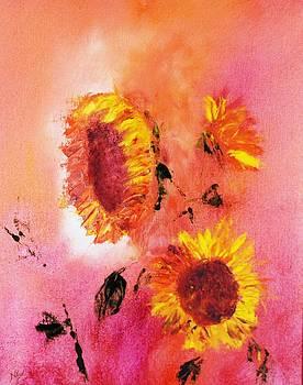 Sunflowers by Larry Ney  II