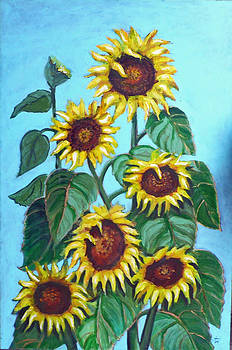 Sunflowers by Lou Monti
