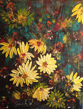 Sunflowers by Sima Amid Wewetzer