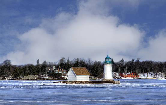 Sunken Rock Lighthouse by David Simons