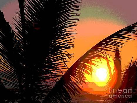 Sunlight - Ile De La Reunion - Reunion Island by Francoise Leandre