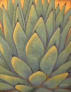 Sunlit Agave by Gayle Faucette Wisbon