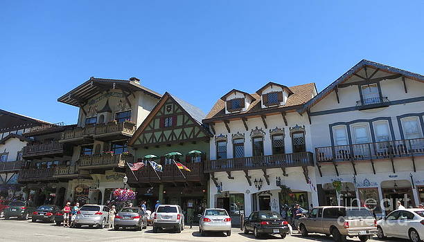 Sunny Day in Leavenworth Washington State  2 by Tanya  Searcy