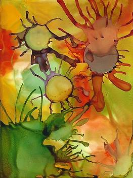 Sunny Flowers by Annette Bingham