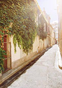 Sunny grape street by Yevgeni Kacnelson