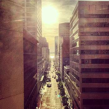 Sunny Morning View Of San Francisco by Mandy Wiltse