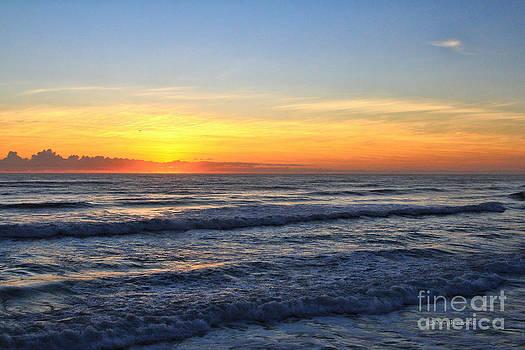 Deborah Benoit - Sunrise and Waves