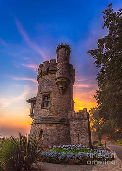 English Landscapes - Sunrise At Appley Tower Ryde