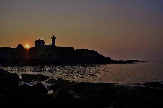 Joy Bradley - Sunrise at Nubble Lighthouse