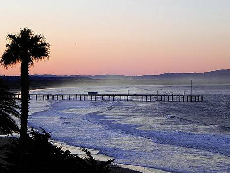 Sunrise at Pismo Beach by Kathy Churchman