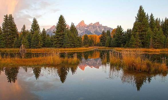 Sunrise at Schwabacher's by Amy Gerber