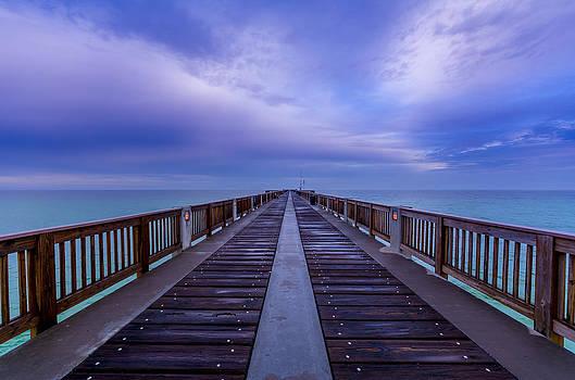 David Morefield - Sunrise at the Panama City Beach Pier
