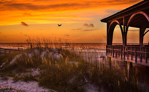 Sunrise at the Pier by Christopher Mobley