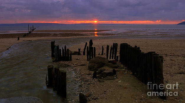 Joe Cashin - Sunrise at Woodstown beach
