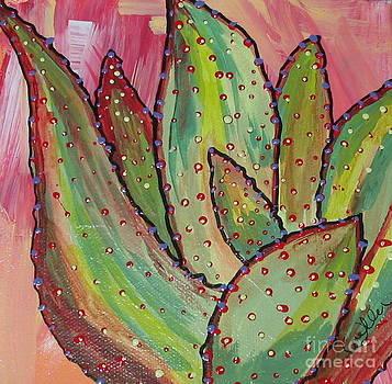 Marcia Weller-Wenbert - Sunrise cactus 1