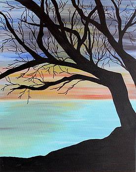 Sunrise Cliff by Vicki Kennedy