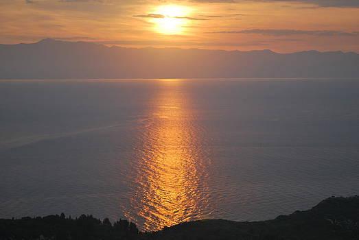 Sunrise Erikousa 1 by George Katechis