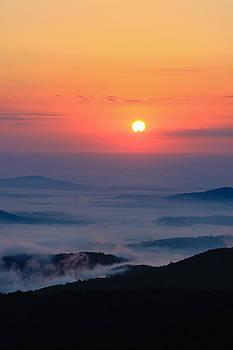 Sunrise Fog by Kaye Seaboch