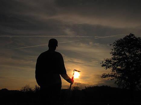 Sunrise Gardener by Shane Brumfield
