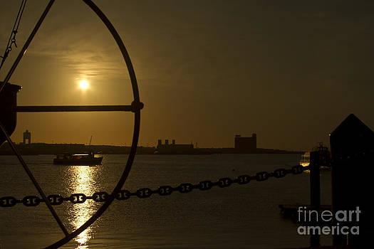 Sunrise in Boston by Robert Wirth
