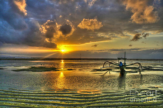 Sunrise In Sanur by Brandon Nadeau