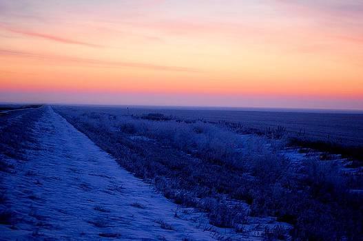 Sunrise in Saskatchewan by Don Mann