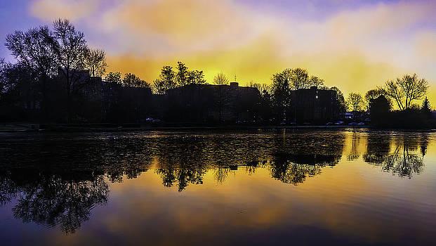 Sunrise In Stadspark Sittard by Libor Bednarik