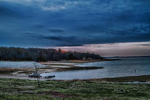 Barry Jones - Boat - Lake - Landscape - Sunrise Launch
