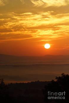 Sunrise Laurel Highlands by Tabatha Knox