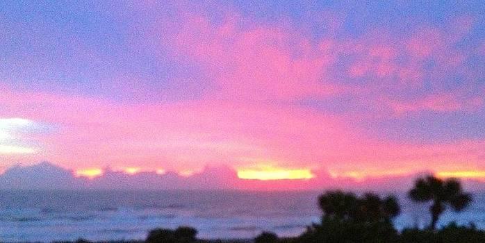 Sunrise on December 29 by Anne Sterling