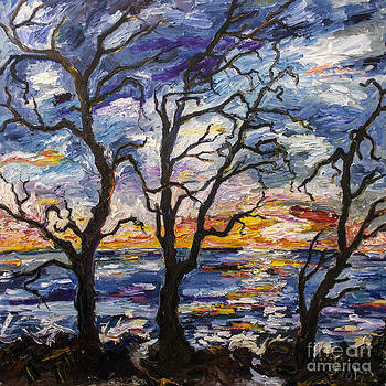 Ginette Fine Art LLC Ginette Callaway - Sunrise on Jekyll Island Georgia