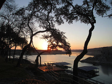 Sunrise on Lake Travis by Kevin Caudill