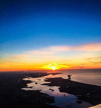Sunrise on Mississippi Gulf Coast by Rachel E Moniz