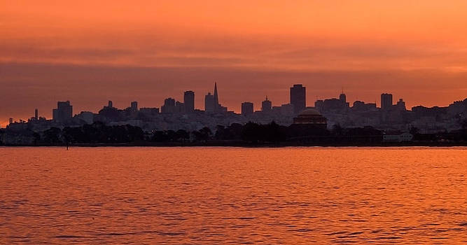 Mick Burkey - Sunrise on the Bay