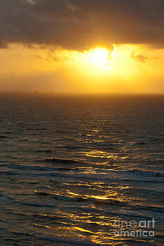 Sunrise on the Gulf by Barbara Shallue