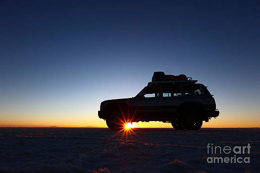 James Brunker - Sunrise on the Salar de Uyuni