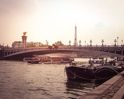 Sunrise on the Seine by Janelle Yeager