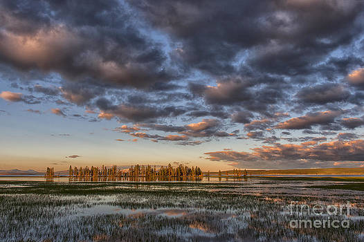 Sandra Bronstein - Sunrise on Yellowstone Lake
